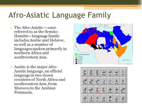 Afro-Asiatic+Language+Family
