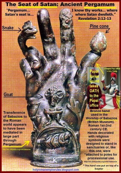 """""""Pergamos…I+know+thy+works…where+Satan's+seat+is…where+Satan+dwelleth."""""""