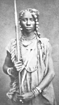 Dahomey warrior