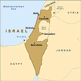 map-isreal
