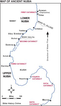 Map-of-Ancient-Nubia