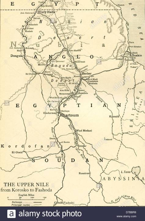 map-of-anglo-egyptian-soudan-showing-the-upper-nile-from-korosko-to-D7BBR8
