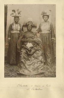Oba_of_Benin_in_exile_in_Calabar,_c.1905
