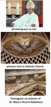 Pagan+symbols+in+Catholic+Churches