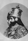 picture-taken-in-1930-of-the-coronation-of-ethiopian-emperor-haile-picture-id145708367