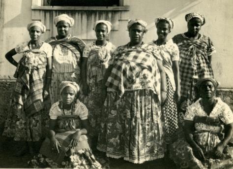 Bahia-Mae Menininha and Candomble priestesses