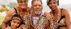 local_leader_of_Khoisan_tribe_and_his_family_The