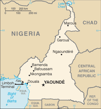 Cameroon_CIA_WFB_2006_map