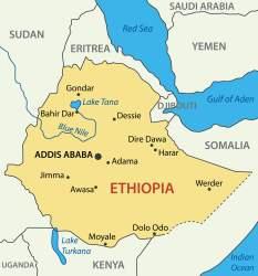 Ethiopian-Map
