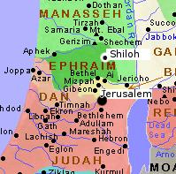 shiloh map