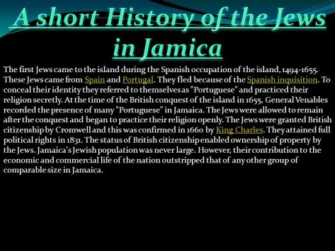 A+short+History+of+the+Jews+in+Jamica