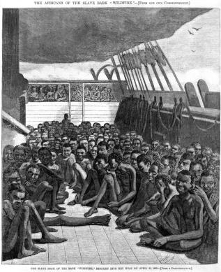 Schmuggel-Afrikanische-Sklaven-Key-West-1860