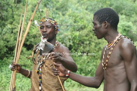Africa, Tanzania, Hadza tribe